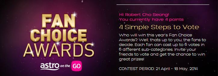 Astro Fan Choice Awards