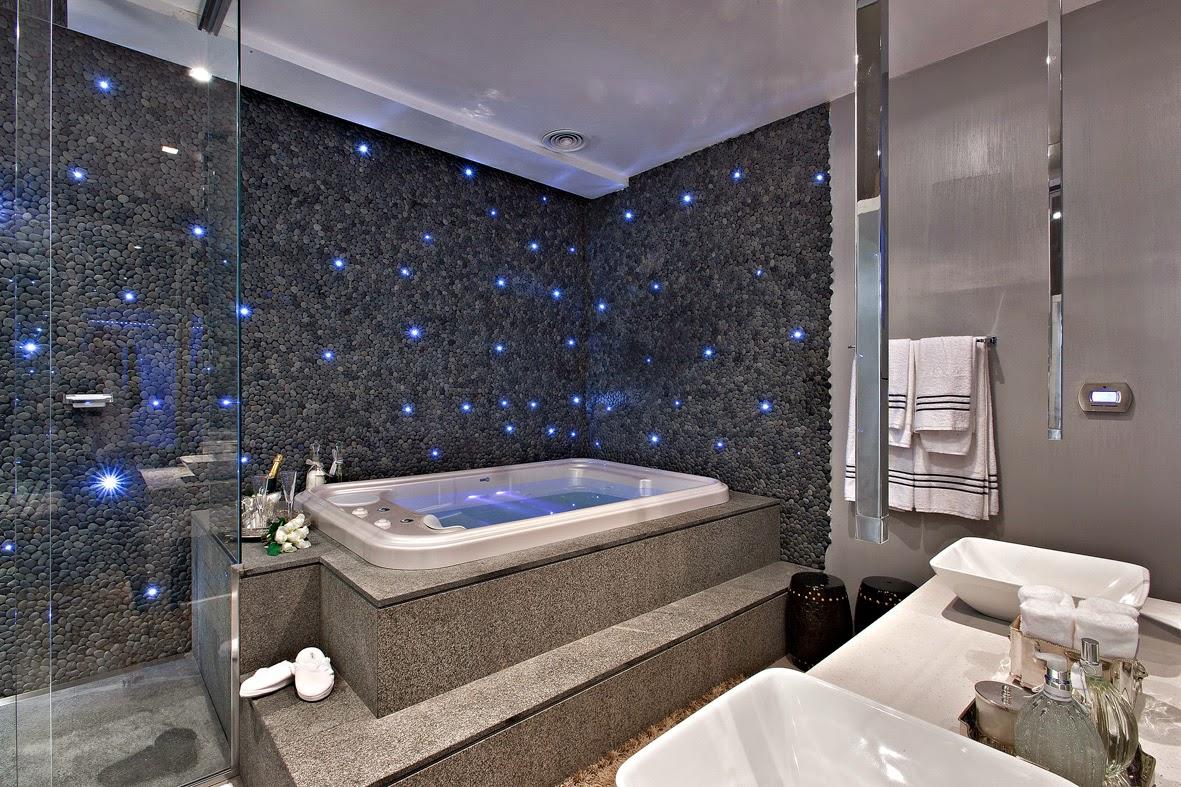 Torneira de teto – veja banheiros/lavabos lindos com essa tendência #495182 1181 787
