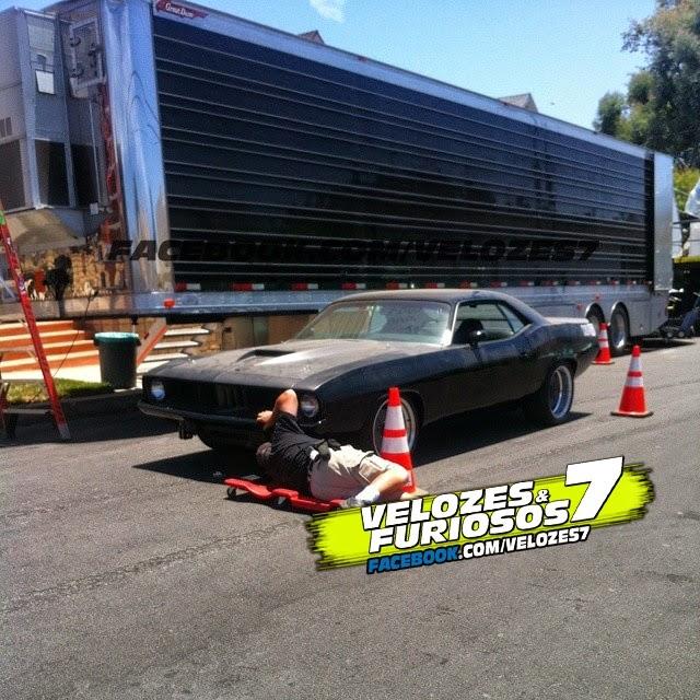 Fast Amp Furious World Nuevas Fotos Del Rodaje De Fast 7