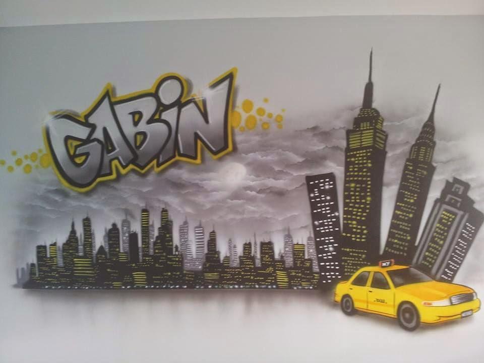 D coration graff int rieur d co ext rieur d co chambre d - Decoration new york pour chambre ...