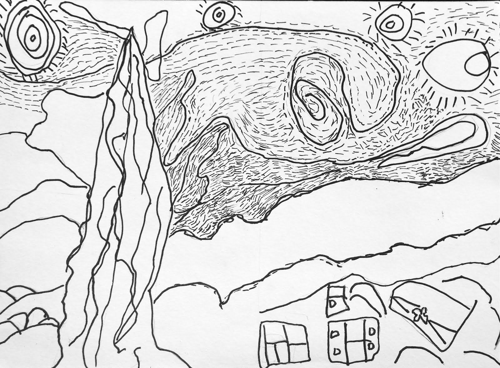 van gogh starry night coloring page - vincent van gogh starry night coloring page coloring pages