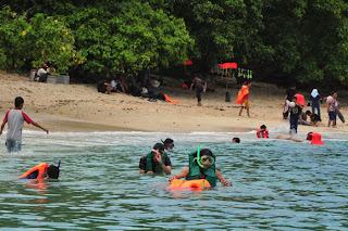 tempat rekreasi pantai pangandaran
