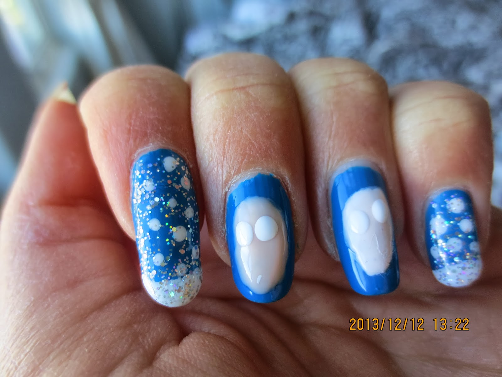 Disney Inspired Frozen Nail Art Tutorial: Disney frozen olaf ...