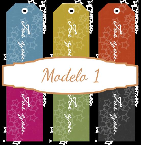 Etiquetas para imprimir modelo 1