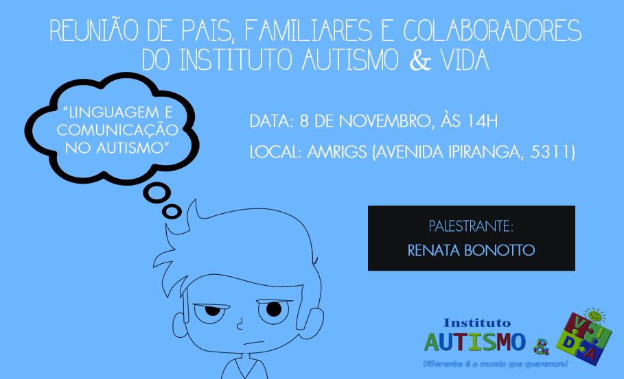 Próxima reunião em Porto Alegre: 13/12, às 14h, na AMRIGS