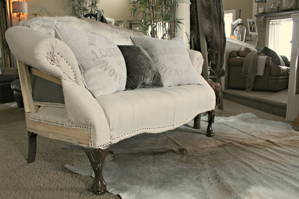 Restoration Hardware Deconstructed Upholstery Project