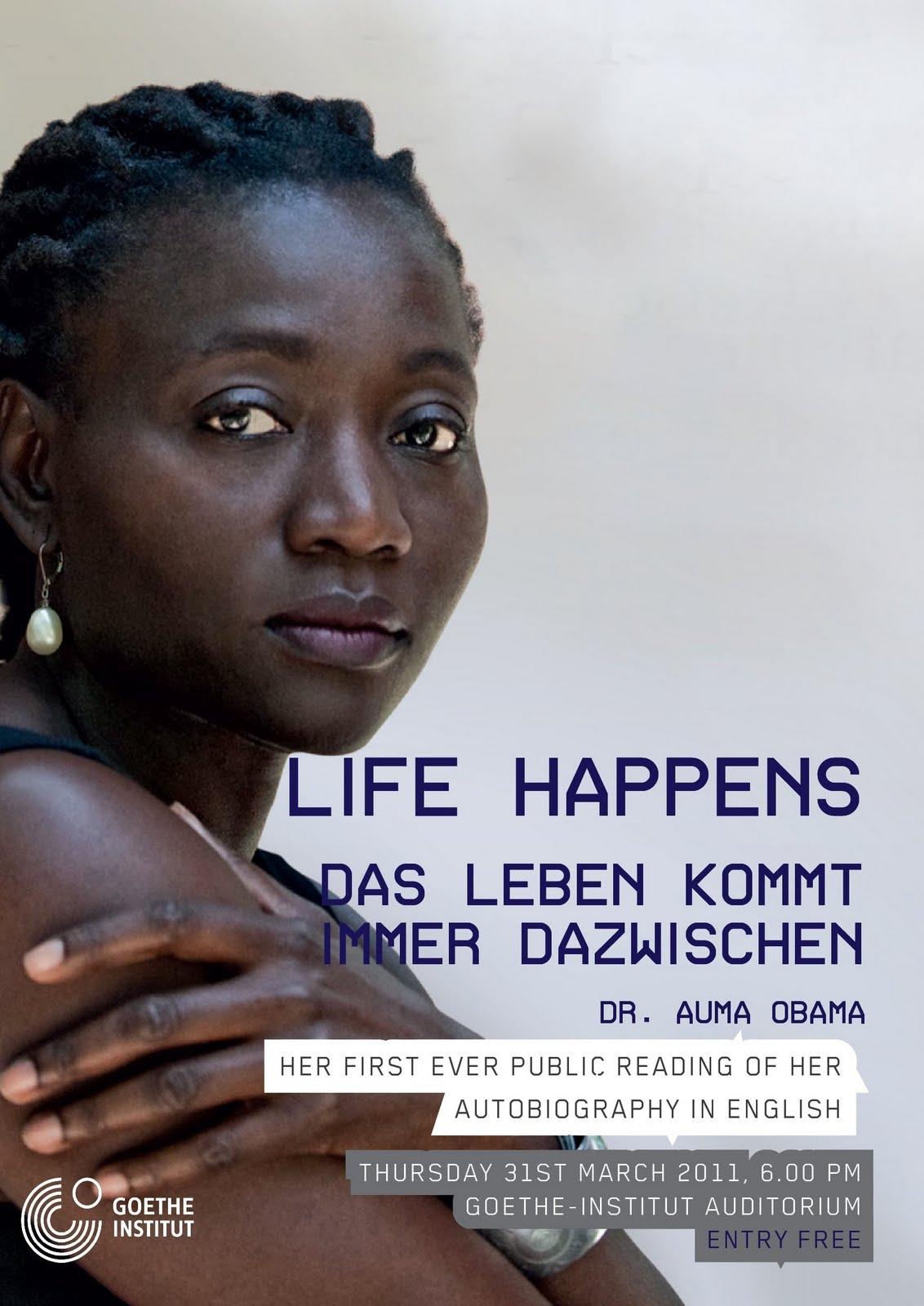 Hot Secrets: OBAMA'S SISTER HOST BOOK READING IN NAIROBI