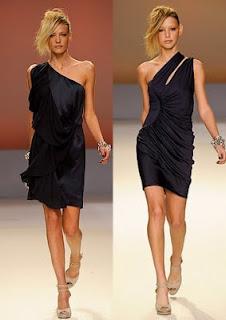 modelos de Vestidos com uma Alça Só