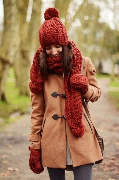 С чем носить шарф осенью