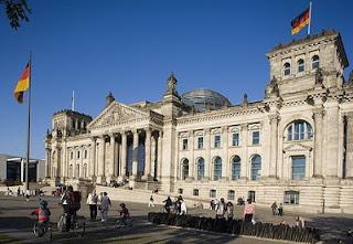 Parlamento alemán Reichstag Bundestag Berlín Alemania