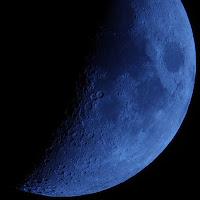 Pentax K-5 фото Луны. 100% кроп.