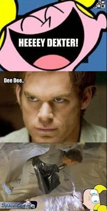 funny Dexter movie humor