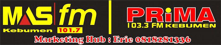 Radio Prima FM Kebumen 103,3 Mhz Jawa Tengah
