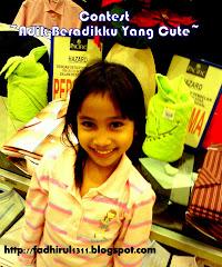 """Contest""""Adik Beradikku Yang Cute"""""""