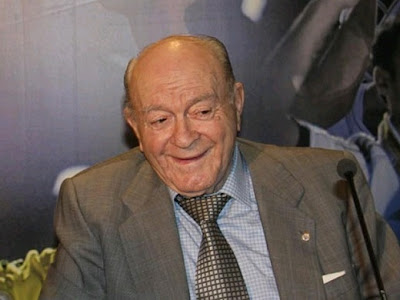 Di Stefano talking about Real Madrid vs Barcelona match