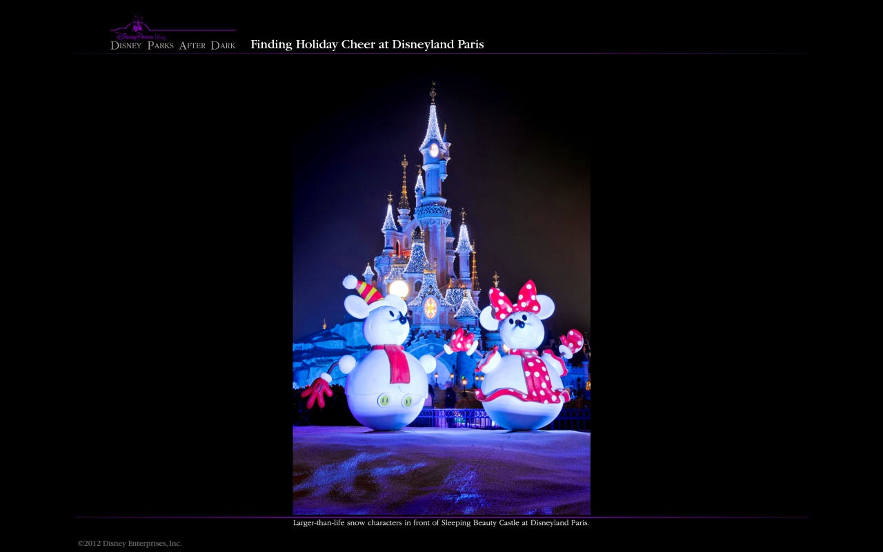 Real Snow Began After Dark >> That S Good Spam Disney Parks After Dark Holiday Wall Papers