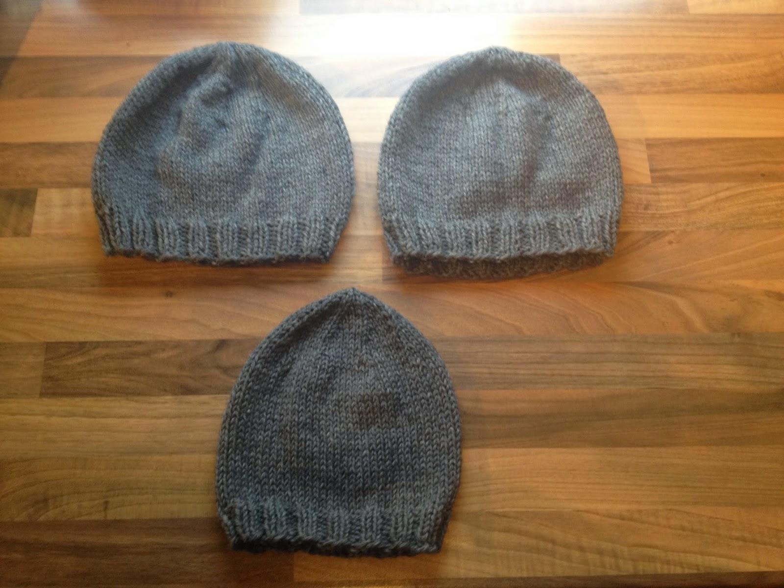 strikket drengehue