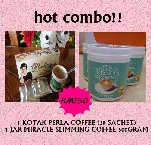 PERLA COFFEE + MIRACLE SLIMMING COFFEE