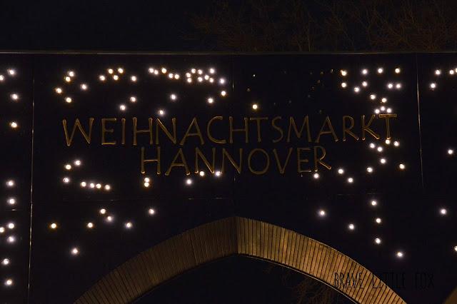 Tor Weihnachtsmarkt Hannover