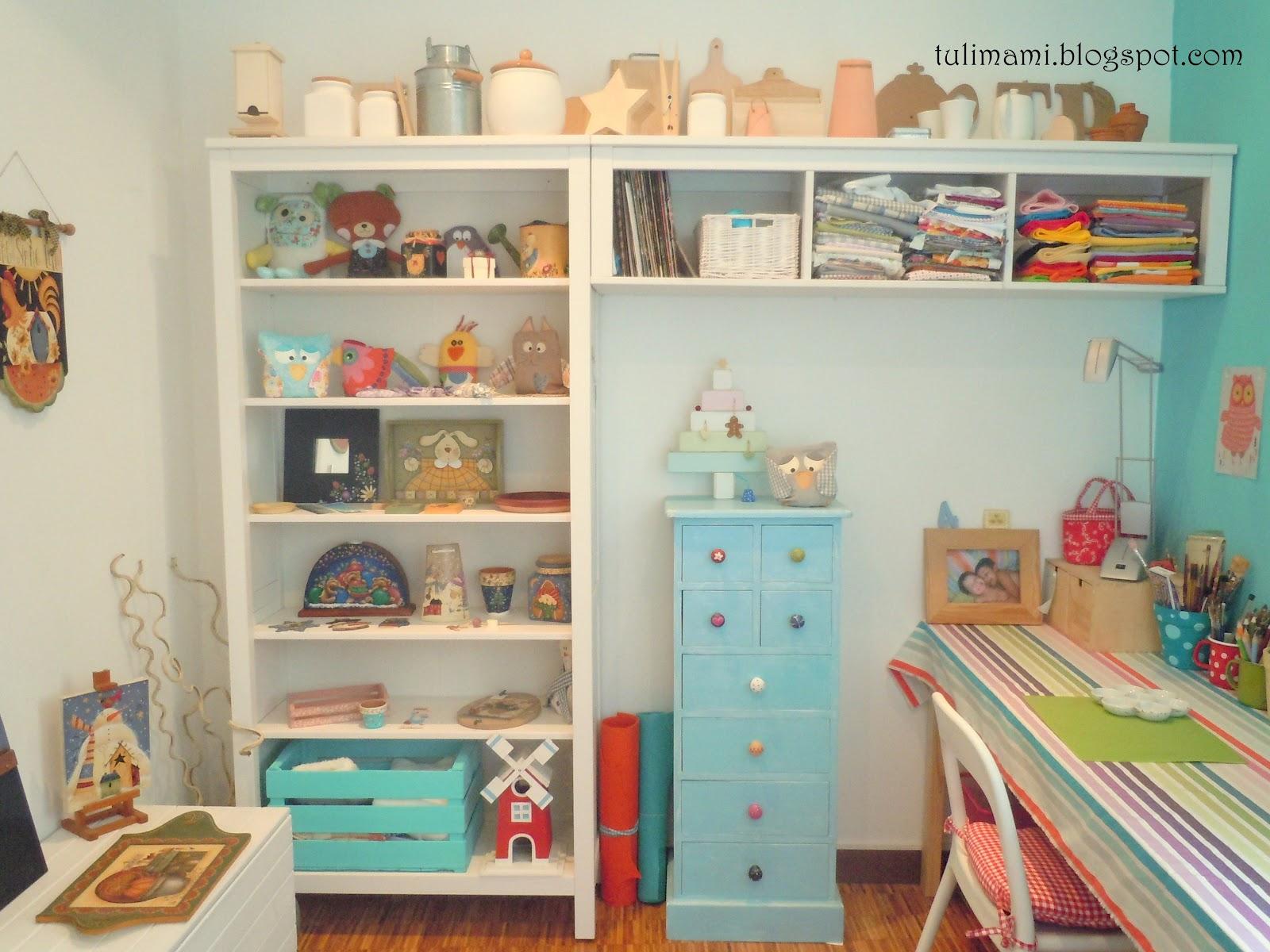 L 39 angolo di casa mia che amo di pi la craft room tulimami - I mobili di luca ...