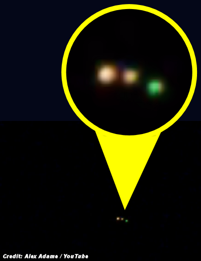 UFOs in El Paso Captured on Video 4-2-15