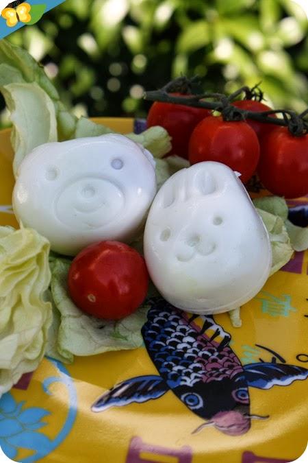 Nos moules à œufs kawaii !