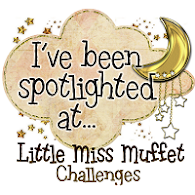 I've been Spotlighted at Little Miss muffet 07/02/2013