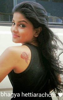 Bhagya Hettiarachchi tattoo