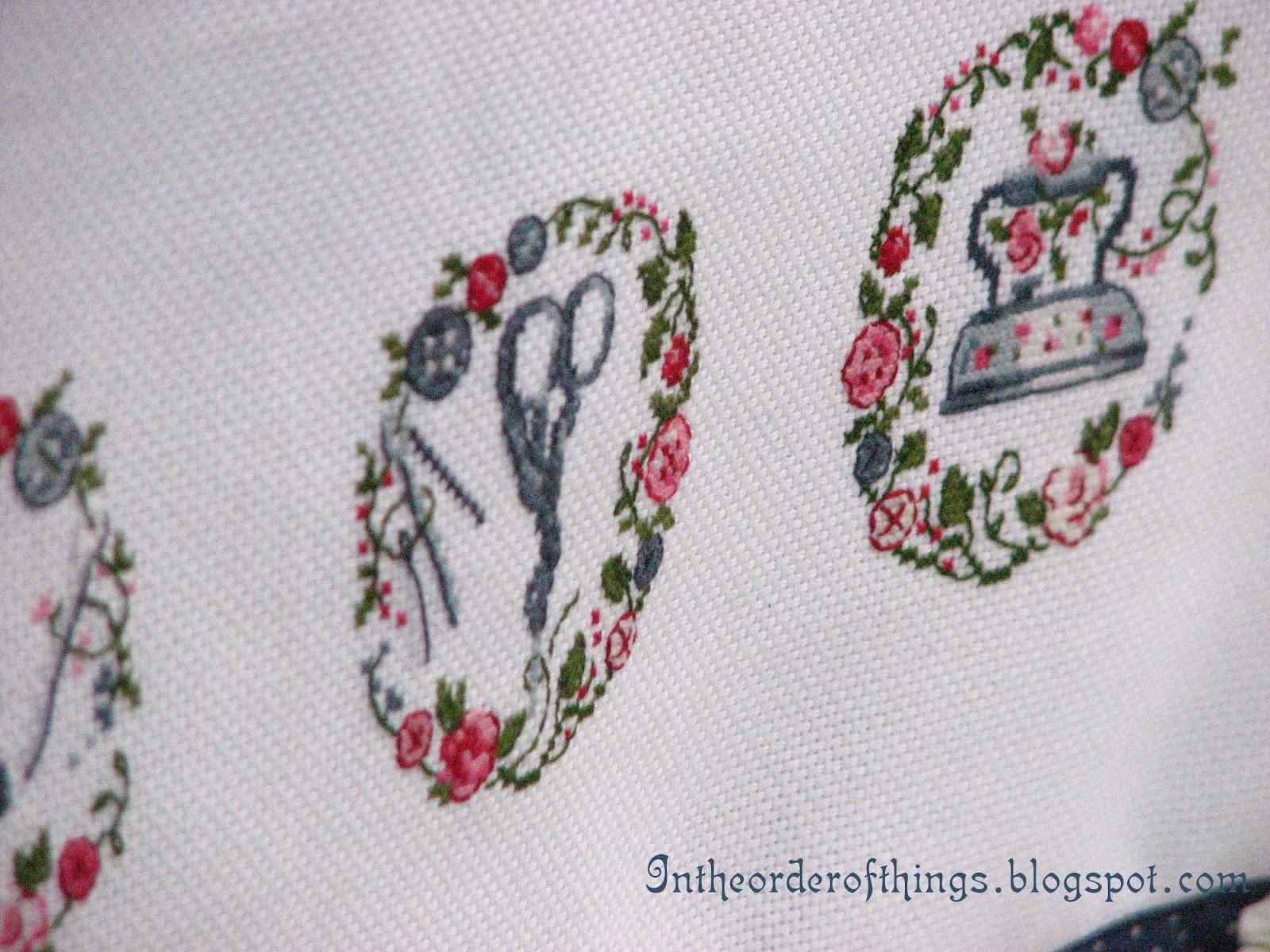 Вышивки крестом на швейных машинах