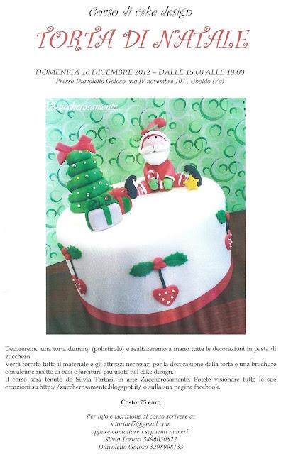 Corso Di Cake Design Varese : Zuccherosamente...: Corso di cake design Natalizio a ...