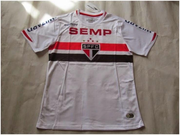 Sao Paulo Sp 14-15 Men Club Grade Original Top Quality Jersey Tailand Version Shirt