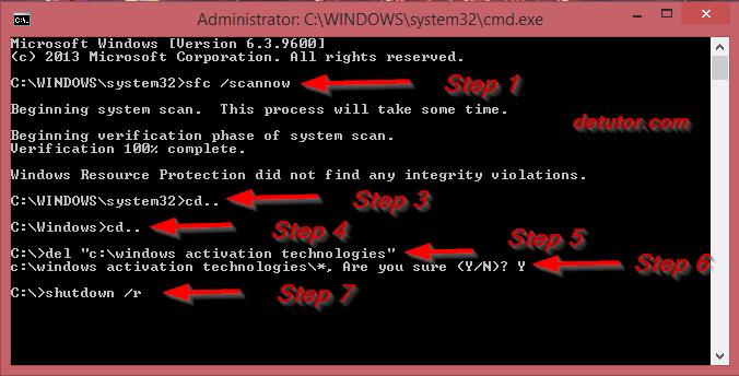 solve black blank screen in windows 8.1