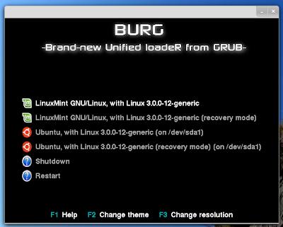 BURG themes Ubuntu 11.10