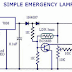 Automatic Emergency Lamp Circuit
