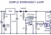 simpele led lamp 230 volt