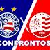 Todos os confrontos de Bahia x Naútico