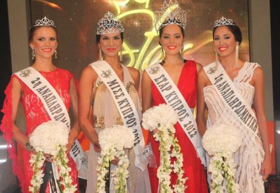 Star Miss Cyprus 2012 Daniella Kefala Georgia Georgiou