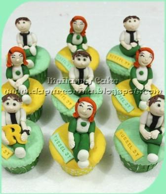 Cupcake ulang tahun goddie bag ben 10 n gwen for for Dekor ulang tahun