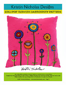 Lollipop Flowers Embroidery PDF