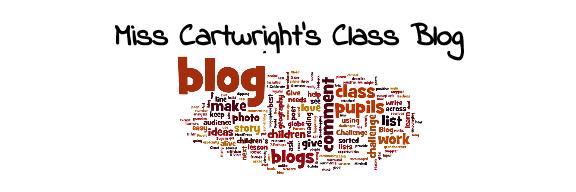 Mrs Cartwright's Class Blog
