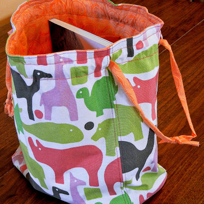 Knitting Bag Pattern To Sew : SEW A KNITTING BAG Free Knitting Projects