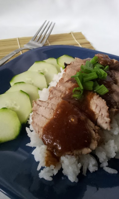 Thai-Red-Pork-Rice-Khao-Moo-Daeng