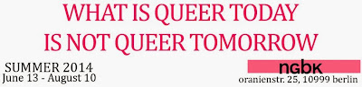 What is queer today is not queer tomorrow
