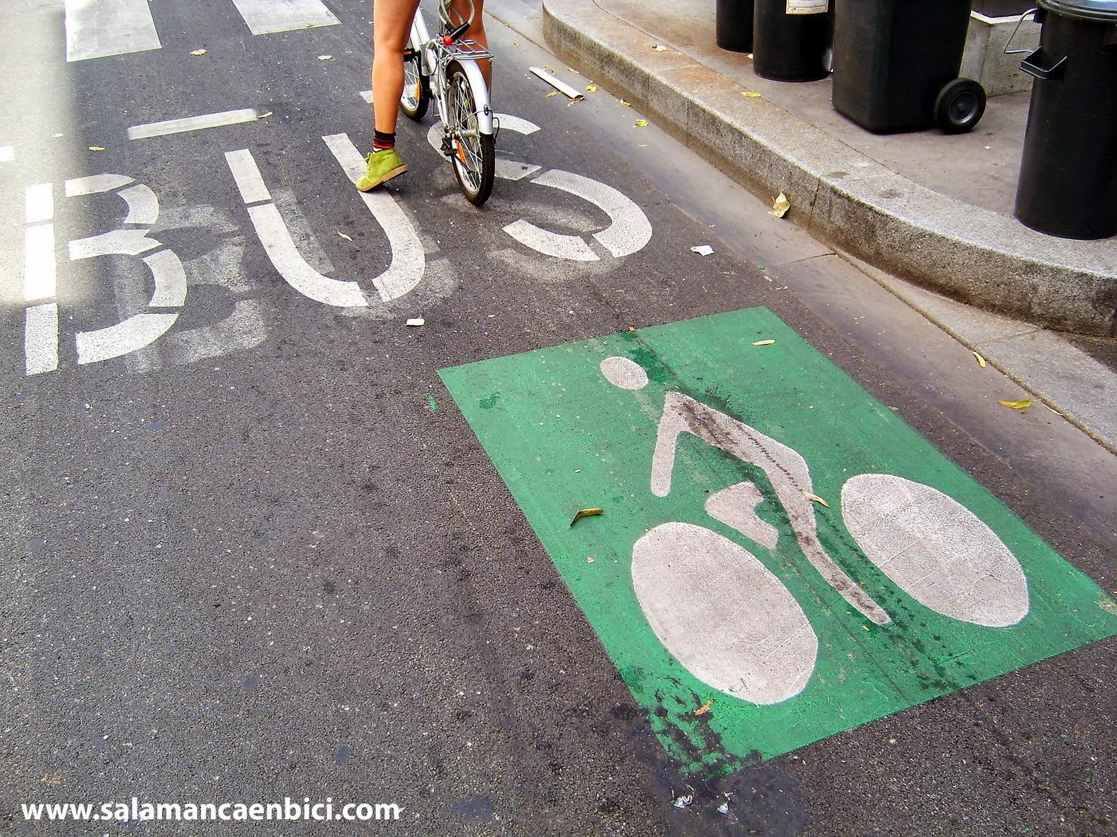 carril bici bus