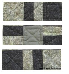 Quilt Pattern Nine Patch Tutorial and Pattern