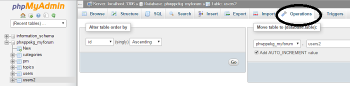cara mencari kolom tertentu di database situs dan blog, how to remove or deleting rows and tables