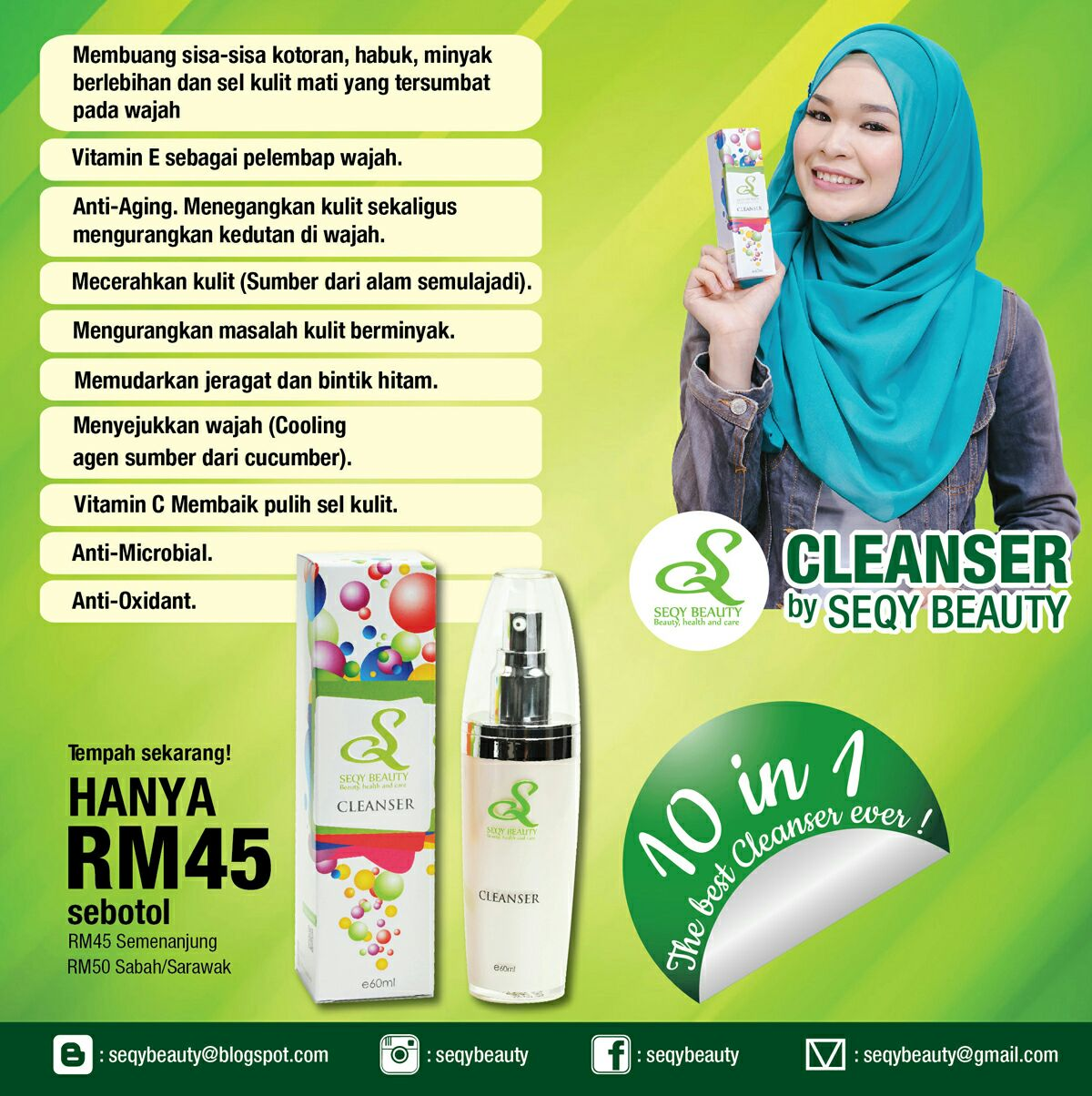 SEQY BEAUTY - Cleanser