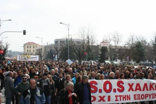Παλλαϊκός ξεσηκωμός στη Θεσσαλονίκη
