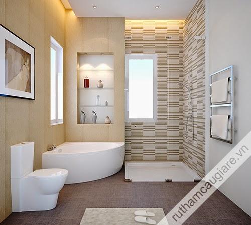 Mẫu nhà vệ sinh đẹp 11