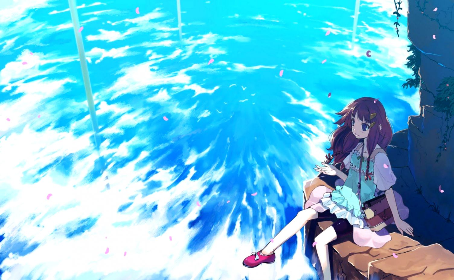 Beautiful anime wallpaper free best image background view original size voltagebd Images